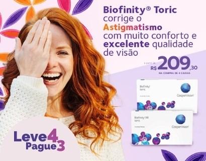Lentes Biofinity toric